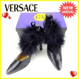 Gianni Versace【ジャンニ・ヴェルサーチ】 パンプス  レディース