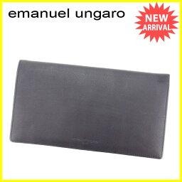 emanuel ungaro【ウンガロ】 長財布(小銭入れあり)  レディース