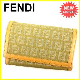 FENDI【フェンディ】 三つ折り財布(小銭入れあり)  レディース