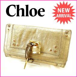 Chloe【クロエ】 二つ折り財布(小銭入れあり)  レディース