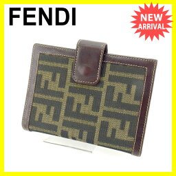 FENDI【フェンディ】 手帳カバー  男女兼用