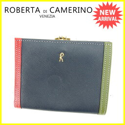 Roberta di Camerino【ロベルタ・ディ・カメリーノ】 二つ折り財布(小銭入れあり) /レザー レディース