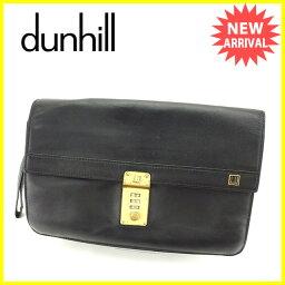 Dunhill【ダンヒル】 クラッチバッグ /レザー 男女兼用