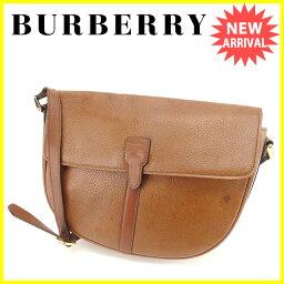 BURBERRY【バーバリー】 ショルダーバッグ /レザー レディース