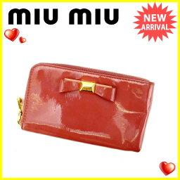 MIUMIU【ミュウミュウ】 セカンドバッグ  レディース