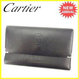 CARTIER【カルティエ】 長財布(小銭入れあり)  レディース