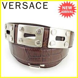 Gianni Versace【ジャンニ・ヴェルサーチ】 ベルト /レザー レディース