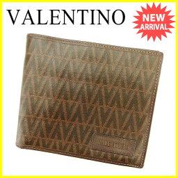 VALENTINO【ヴァレンティノ】 二つ折り財布(小銭入れあり) /PVC×レザー 男女兼用