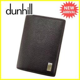 Dunhill【ダンヒル】 カードケース /レザー 男女兼用