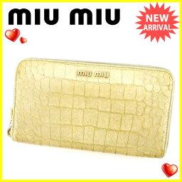 MIUMIU【ミュウミュウ】 長財布(小銭入れあり) /PVC×レザー レディース