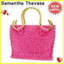 【お買い物マラソン】 【中古】 サマンサタバサ ハンドバッグ バッグ Samantha Thavasa ピンク×ベージュ S507s