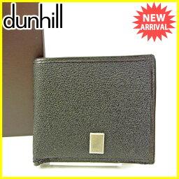 Dunhill【ダンヒル】 二つ折り財布(小銭入れあり) PVC/レザー ユニセックス