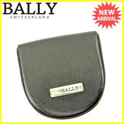 BALLY【バリー】 コインケース /キャンバス×レザー レディース