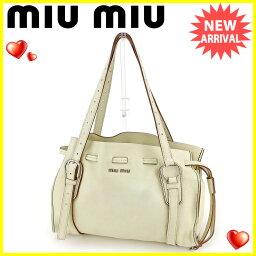 MIUMIU【ミュウミュウ】 トートバッグ /レザー ユニセックス