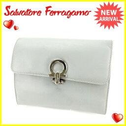Salvatore Ferragamo【サルヴァトーレフェラガモ】 セカンドバッグ /レザー レディース