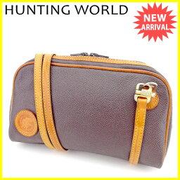 HUNTING WORLD【ハンティングワールド】 ショルダーバッグ PVC/レザー ユニセックス