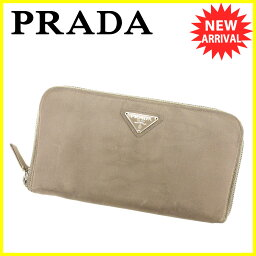 PRADA【プラダ】 長財布(小銭入れあり) ナイロン/レザー レディース
