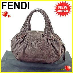 FENDI【フェンディ】 8BL078 ハンドバッグ /レザー レディース
