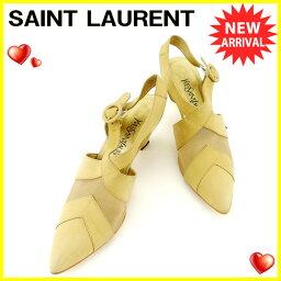 YVES SAINT LAURENT【イヴ・サンローラン】 パンプス /ナイロンメッシュ レディース