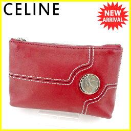 CELINE【セリーヌ】 セカンドバッグ /ソフトカーフレザー レディース