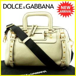 DOLCE&GABBANA【ドルチェアンドガッバーナ】 ボストンバッグ /レザー レディース