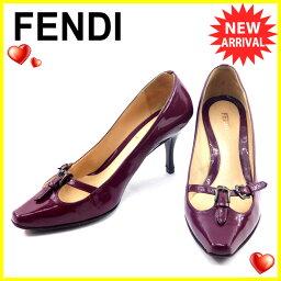 FENDI【フェンディ】 パンプス エナメル レディース