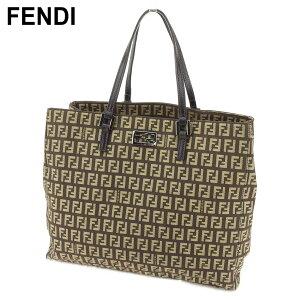 [بيع الأزياء] [10٪ خصم] [مستعملة] Fendi Tote Bag Handbag Zucchino Brown Beige Canvas x Leather FENDI Back Storage أزياء العلامة التجارية حقيبة يد حقيبة يد هدية شعبية للرجال النساء عناصر جيدة الصيف H609.