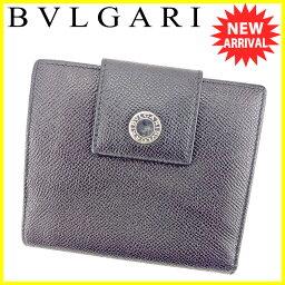 BVLGARI【ブルガリ】 二つ折り財布(小銭入れあり) /レザー ユニセックス