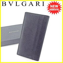 BVLGARI【ブルガリ】 長財布(小銭入れあり) レザー ユニセックス
