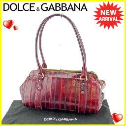 DOLCE&GABBANA【ドルチェアンドガッバーナ】 ショルダーバッグ /イールスキン レディース