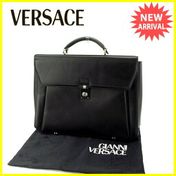 Gianni Versace【ジャンニ・ヴェルサーチ】 ビジネスバッグ  メンズ