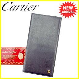 CARTIER【カルティエ】 長財布(小銭入れあり) レザー ユニセックス
