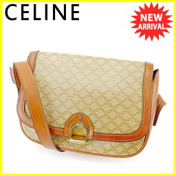 CELINE【セリーヌ】 ショルダーバッグ /PVC×レザー レディース
