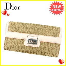 Christian Dior【クリスチャンディオール】 長財布(小銭入れあり)  レディース