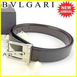 BVLGARI【ブルガリ】 その他 /レザー×シルバー金具 レディース