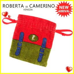 Roberta di Camerino【ロベルタ・ディ・カメリーノ】 ポーチ キャンバス レディース