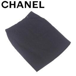 CHANEL【シャネル】 スカート /ウールWO/96%スパンデックスSP/4%(裏地)シルクSilk/100% レディース