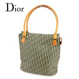 Dior【ディオール】 トートバッグ /PVC×レザー レディース