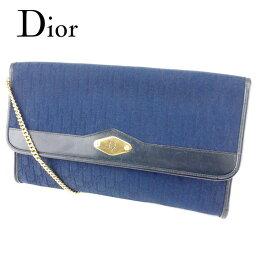 Dior【ディオール】 ショルダーバッグ /キャンバス×レザー レディース
