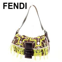 FENDI【フェンディ】 ハンドバッグ /キャンバス×レザー レディース