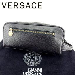 Gianni Versace【ジャンニ・ヴェルサーチ】 セカンドバッグ /レザー レディース