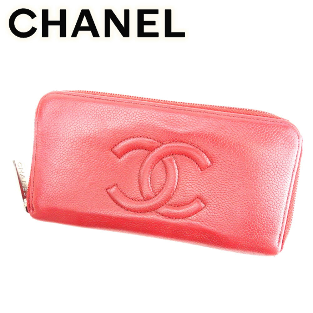 19097965a2615f CHANEL 【Chanel】 purse (with Coin Pocket) Caviar skin ladies ー The ...