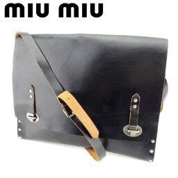 MIUMIU【ミュウミュウ】 ショルダーバッグ /レザー レディース