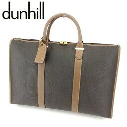 Dunhill【ダンヒル】 ボストンバッグ PVC/レザー レディース