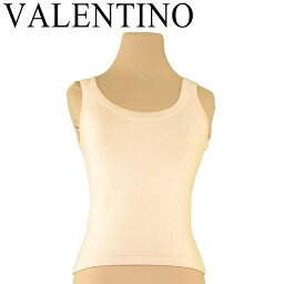 VALENTINO【ヴァレンティノ】 タンクトップ コットン/ナイロン レディース