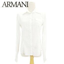 ARMANI COLLEZIONI【アルマーニコレッツォーニ】 ブラウス /ヴィスコース/83%ポリアミド/14%エラスタンEA/3% レディース