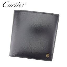 CARTIER【カルティエ】 二つ折り財布(小銭入れあり)  ユニセックス