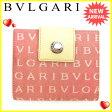 ブルガリ BVLGARI Wホック財布 メンズ可 ロゴマニア レッド×ベージュ キャンバス×レザー 良品 セール 【中古】 J15789