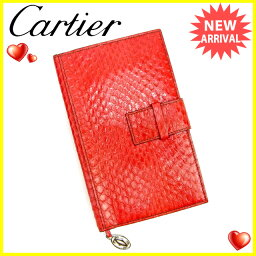 CARTIER【カルティエ】 手帳カバー /レザー ユニセックス