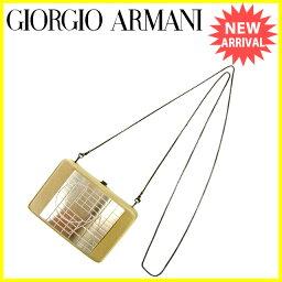 Emporio Armani【エンポリオ・アルマーニ】 ハンドバッグ /メタル×サテン レディース